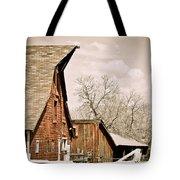 Angle Top Barn Tote Bag