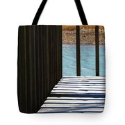 Angles And Shadows Tote Bag