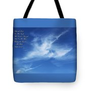 Angels In The Sky Tote Bag