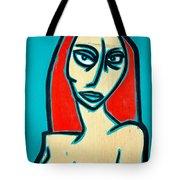 Angry Jen Tote Bag