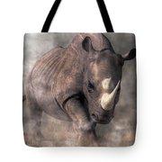 Angry Rhino Tote Bag