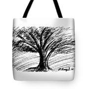 Angry Tree Tote Bag