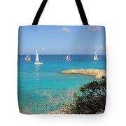 Anguilla Regatta Tote Bag