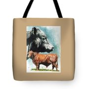 Angus Cattle Tote Bag