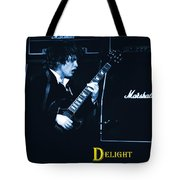 Angus Chords Delight Crowds In Blue Tote Bag