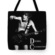 Angus Creates Decibel Celebrations Tote Bag