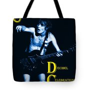 Angus Creates Decibel Celebrations In Blue Tote Bag