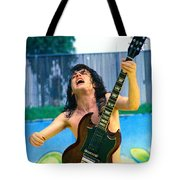 Angus Young Of A C D C At Day On The Green Monsters Of Rock  7-21-79  Tote Bag