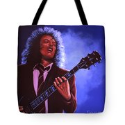 Angus Young Of Ac / Dc Tote Bag