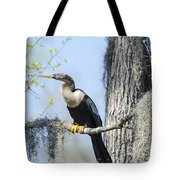 Anhinga And Spanish Moss Tote Bag