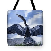 Anhinga Take Off Tote Bag