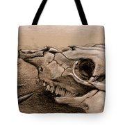 Animal Bones Tote Bag