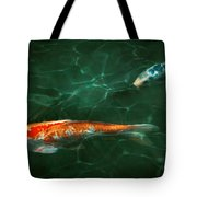 Animal - Fish - Koi - Another Fish Story Tote Bag