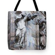 Animal Gargoyles Duomo Di Milano Italia Tote Bag