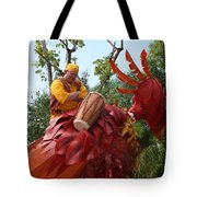 Animal Kingdom Bird Tote Bag