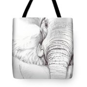 Animal Kingdom Series - Gentle Giant Tote Bag
