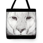 Animal Kingdom Series - Mountain Lion Tote Bag