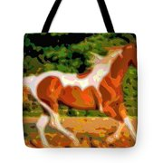 Animal Portrait The Horse Tote Bag