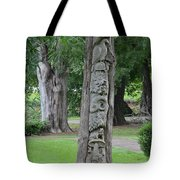 Animal Tree Totem Tote Bag