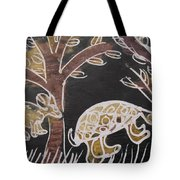 Animals On The Farm. Tote Bag