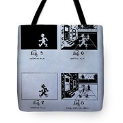 Animation Patent Tote Bag