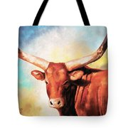 Ankole Bull Tote Bag