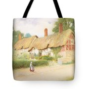 Ann Hathaway's Cottage Tote Bag