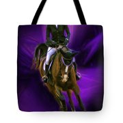 Ann Knight Karrasch On Horse Coral Reef Aajee Tote Bag