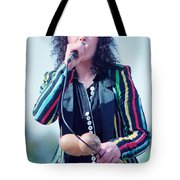 Ann Wilson Of Heart At 1981 Day On The Green In Oakland Ca Tote Bag