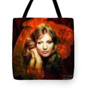 Anna German Tote Bag by Mo T