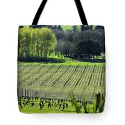 Anne Amie Vineyard Lines 23093 Tote Bag