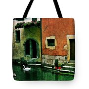 Annecy Swan Tote Bag