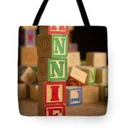 Annie - Alphabet Blocks Tote Bag