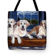 Annie And Her Sisters Tote Bag