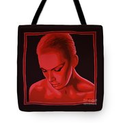 Annie Lennox Tote Bag by Paul Meijering