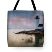 Annisquam Harbor Lighthouse Tote Bag