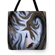 Annisquam Lighthouse Fantasy Tote Bag
