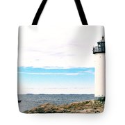 Annisquam Lighthouse Tote Bag