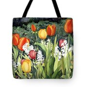 Ann's Tulips Tote Bag