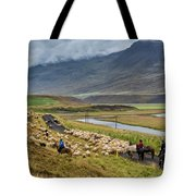 Annual Autumn Sheep Roundup Tote Bag