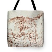 Annunciation  Tote Bag