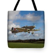 Another Day - Hurricanes Scramble Tote Bag