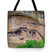Another Dwelling On Chapin Mesa In Mesa Verde National Park-colorado  Tote Bag