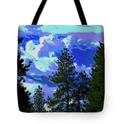 Another Fine Day On Planet Earth Tote Bag