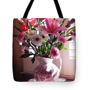Another Grandma's Pitcher With Flowers Tote Bag