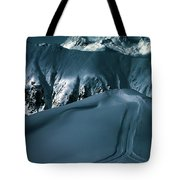 Another Late Day In The Mountains  Tote Bag