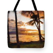 Another Maui Sunset - Pastel Tote Bag
