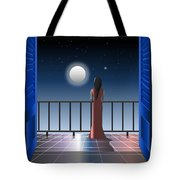Another Night Alone Tote Bag