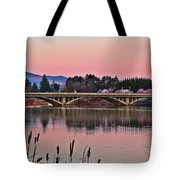 Another Pink Morning 2 Tote Bag