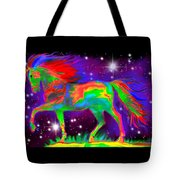 Another Rainbow Stallion Tote Bag